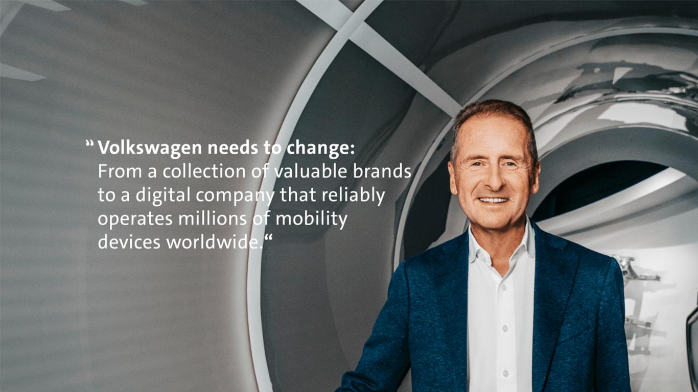 How we transform Volkswagen