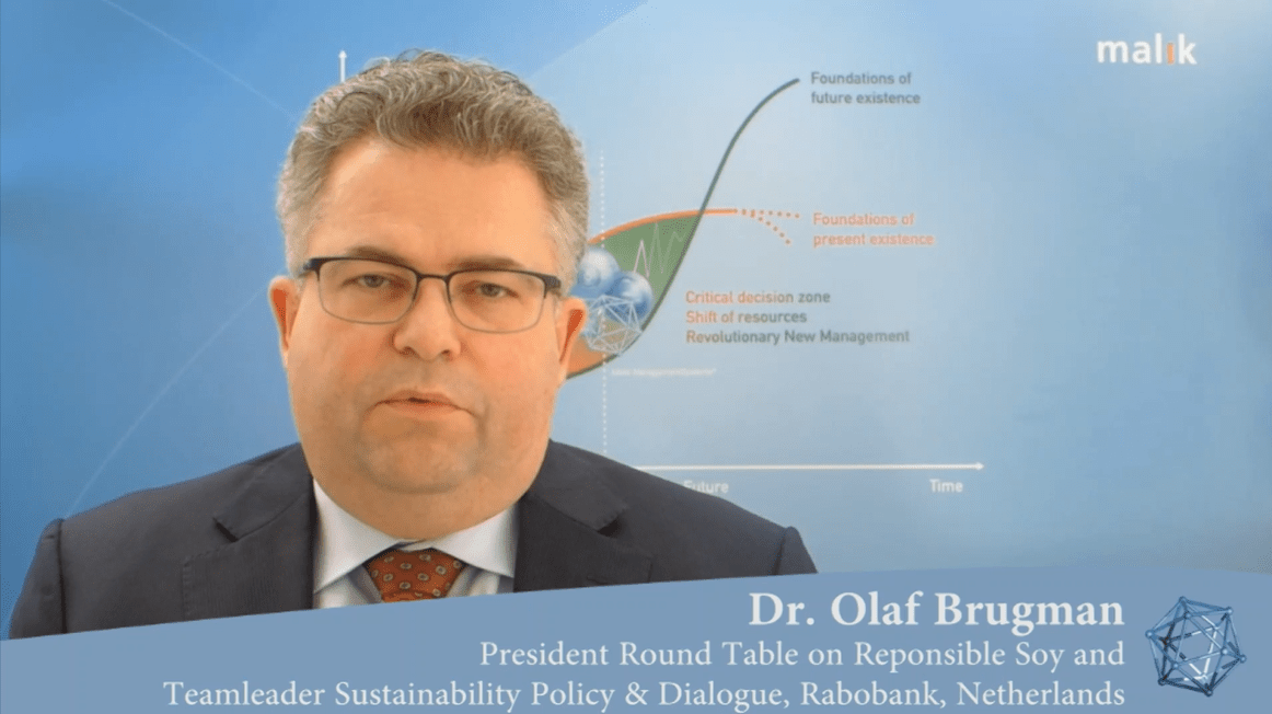 A post Syntegration interview with Dr. Olaf Brugmann, President Round Table on Responsible Soy
